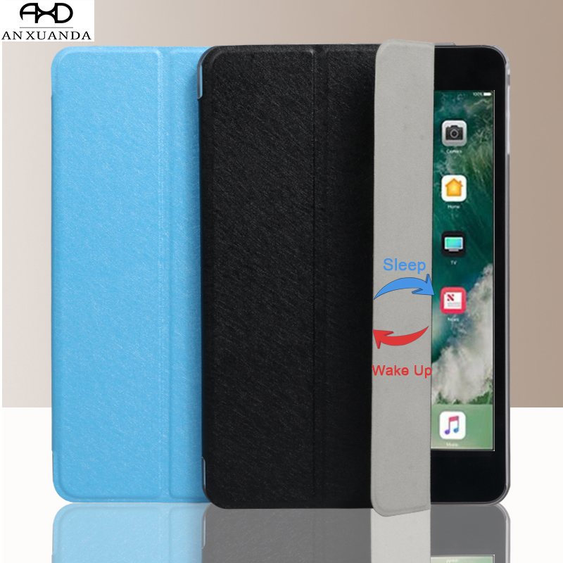 Flip Tablet Smart Leather Stand Case Cover for Apple Ipad Air Pro 9.7 Inch 2017 2018 fast Wake for Air 1 2 I Pad 5 6 IPad5 ipad6