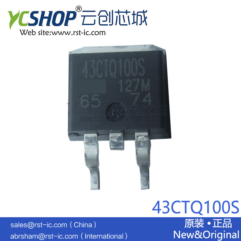 43CTQ100S D2PAK TO-263AB 40A 100V Schottky Diodes & Rectifiers(China)