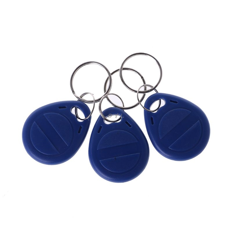10 Pcs Duplicator EM4305 T5577 Clone Proximity Badge Writable Rewrite Copy 125khz RFID Tag Card Sticker Key Fob Token Ring