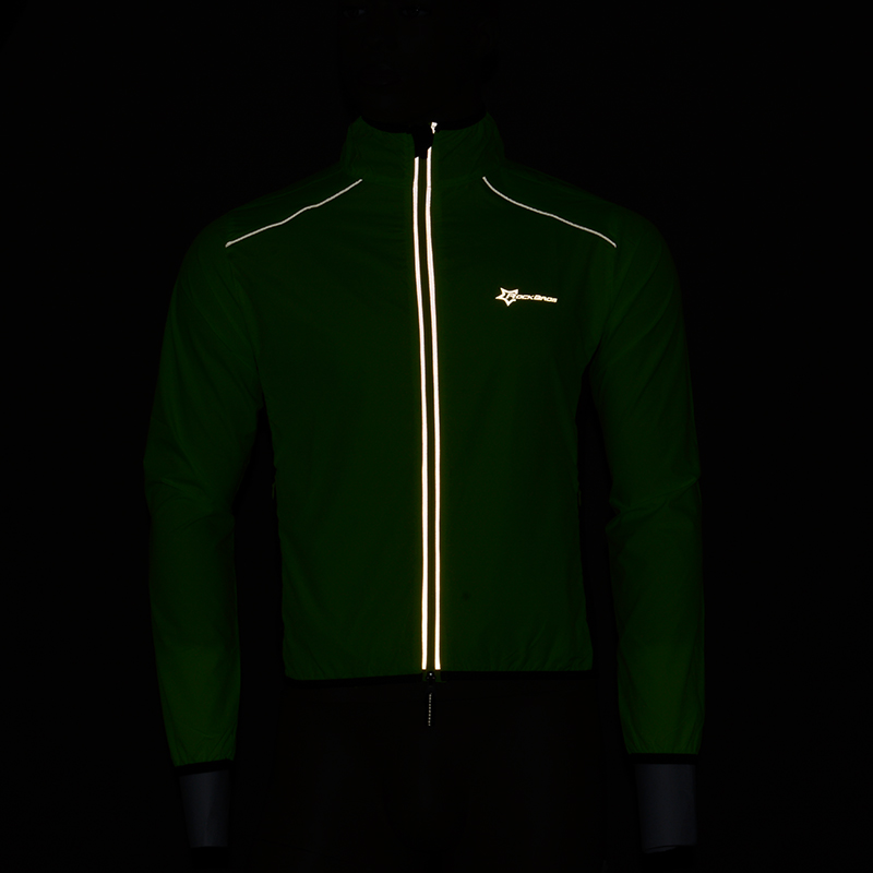 Image 3 - ROCKBROS Cycling Bike Jersey Man Jacket Windproof Quick Dry Breathable Bike Rain Coat Mtb Jersey Motocross Cycling Clothes ShirtCycling Jerseys   -