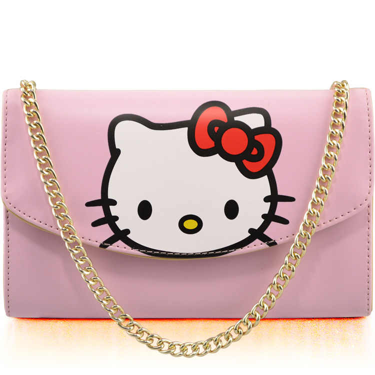 Hello Kitty Women Crossbody Bag Small Messenger Mini Saddle Femal Shoulder  Bags Designer Brand Handbags Evening d818c754987be