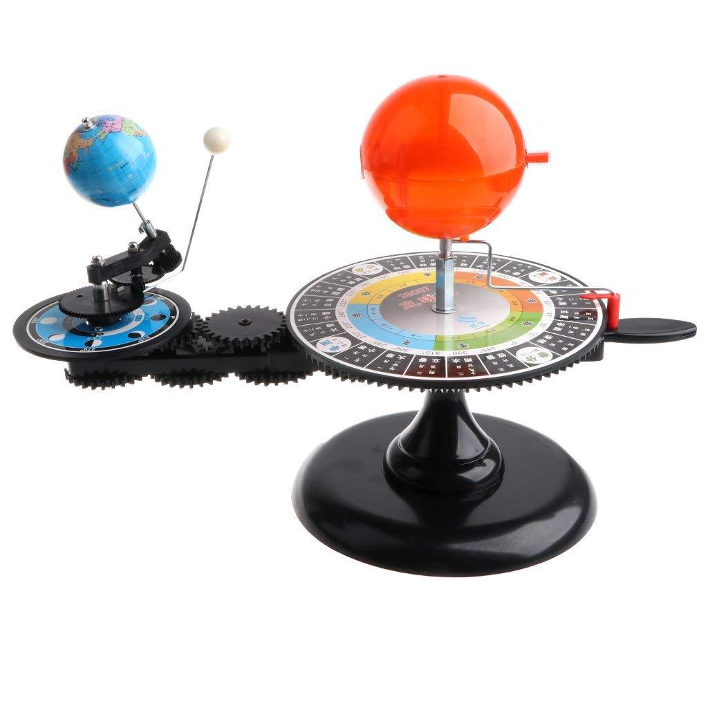 Modèle de système solaire bricolage assemblé Science apprentissage modèle de planétarium éducatif jouets cadeau d'anniversaire pour enfants enfants en bas âge - 3