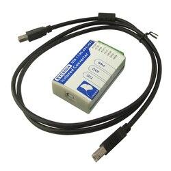 EVC8004 Магнитный парный изолирующий преобразователь USB Поворот 485 USB Поворот 422 два-в-одном изолятор конвертер