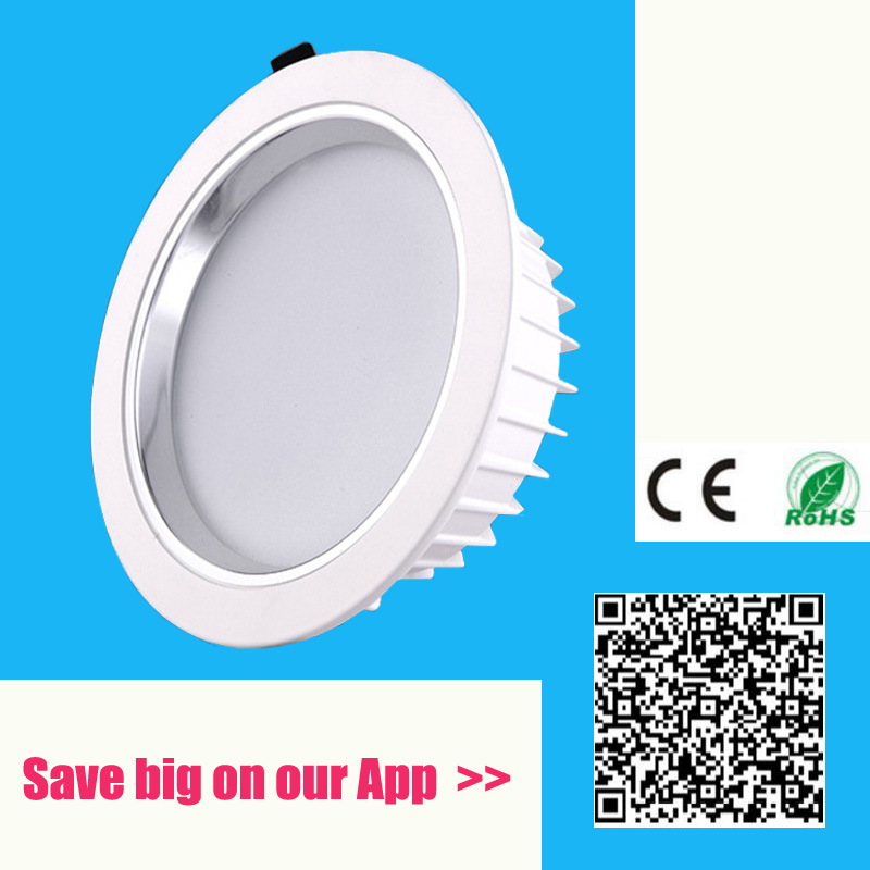 5W 10W 15W 20W 30W 60W 80W LED Downlight Dimmable Spot LED-Panel-Leuchte Deckeneinbauleuchte Dimmable 4500K Home-Leuchte