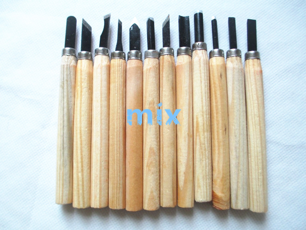 Fixmee Multi function 12Pcs set Wood Carving Hand Tools Chisel Woodcarving Woodworkers Gouges Tool