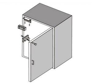 Image 3 - 12V אלקטרוני מגירת מנעול חשמלי מגנטי ארון דלת מנעולי 60kg 100lbs כוח מחזיק אלקטרומגנטית מיני M60