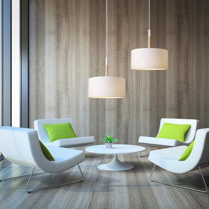 Black/White Fabric+iron Led Pendant Lighting Lamp Scandinavian Pendant  Lights Modern For Office/bar/cafe/dinning Hall Led Free In Underwear From  Mother ...