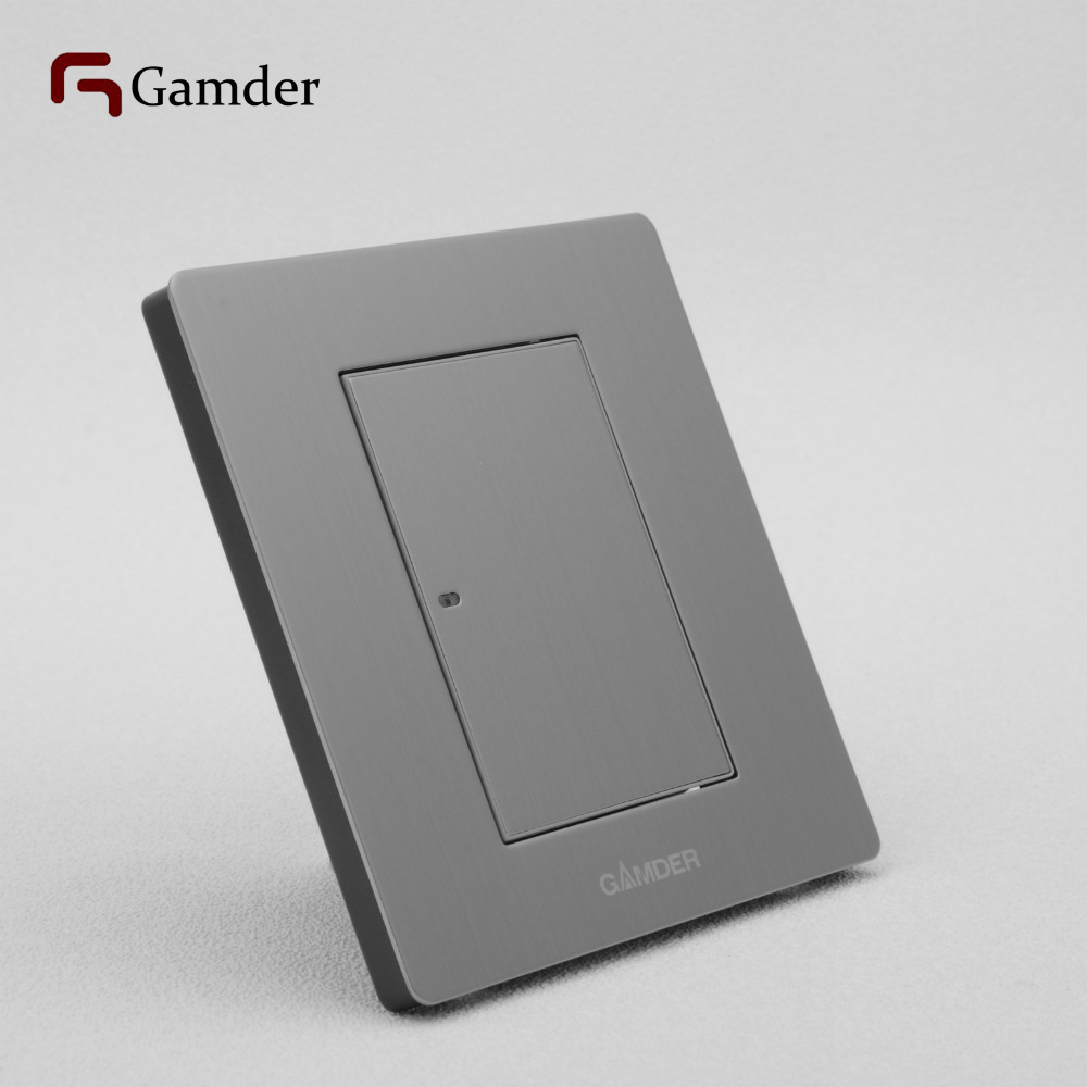 Gamder K9 A Reset Flat Wall Light Switch LED Indicator With 304 ...