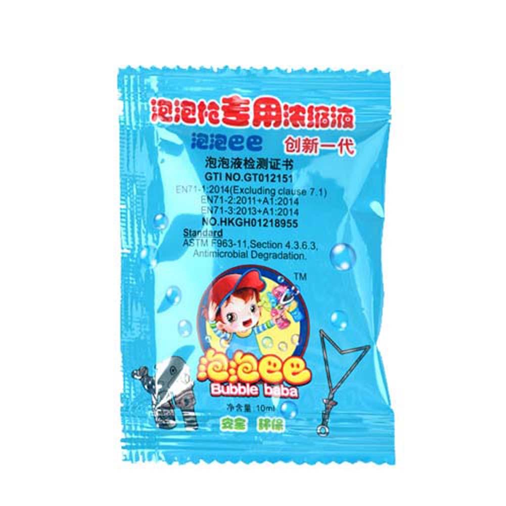5pcs/ pack Soap Bubble Concentrate toy bubbles liquid Children Gazillion soap bubbles water for kids