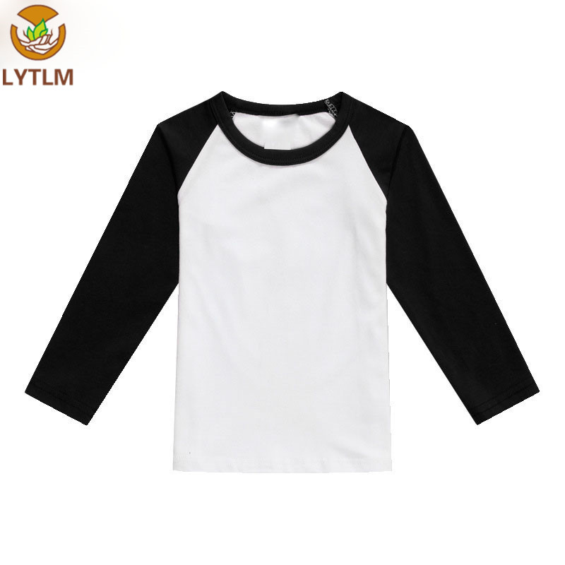 LYTLM Girls Clothes 2018 Toddler Raglan Shirts Cotton T Shirt Boys Baby Boy Summer Clothes Tshirt Funny T Shirts for Girls Boys