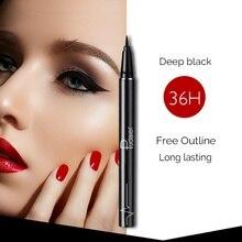 Professional Waterproof Eyeliner Pencil Long lasting Black Eye Liner Pen Thin Lines Cosmetics Quick dry Makeup