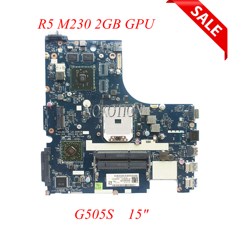 NOKOTION Laptop Motherboard For Lenovo G505S 15