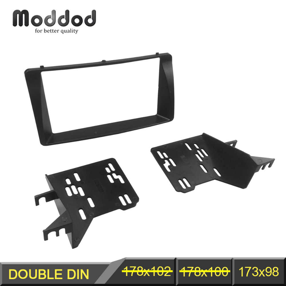 Radio Fascia With Brackets for TOYOTA Corolla Radio CD Stereo Panel Dash Mount Installation Trim Kit Frame Facia