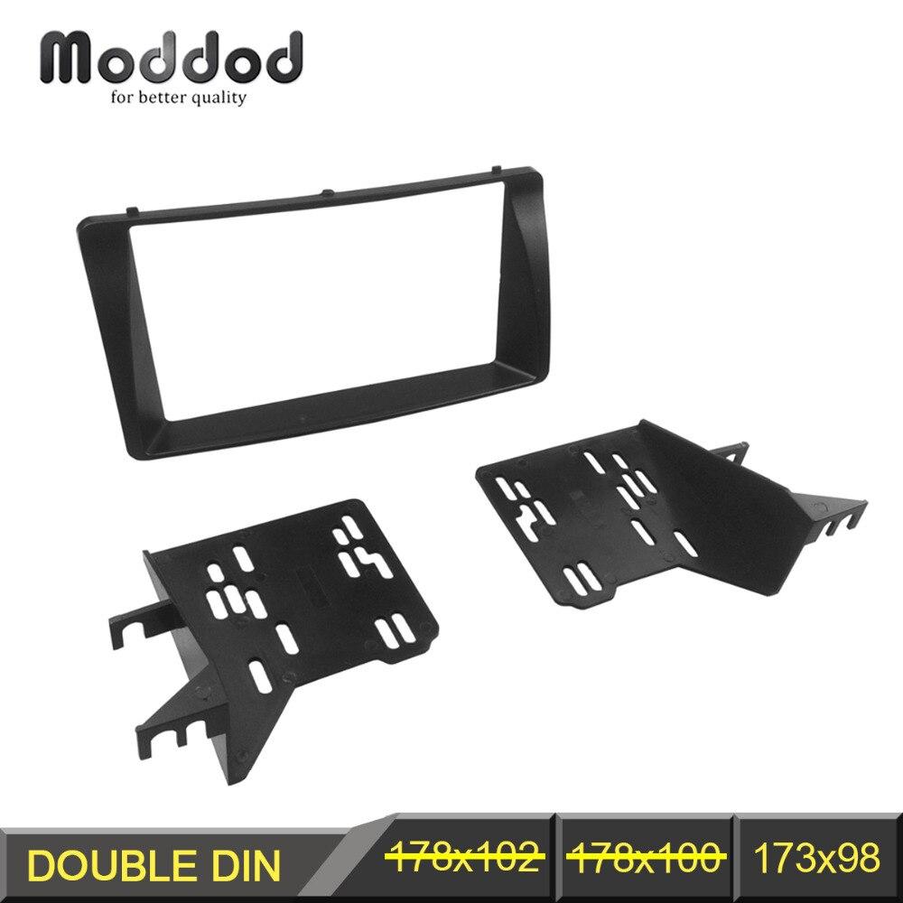 Double Din Fascia For TOYOTA Corolla Radio CD Stereo Panel Dash Mount Installation Trim Kit Frame