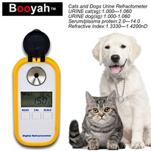 Original Booyah Digital Medical Urine Concentration Refractometer Cat and Dog Urine Hydrometer Electronic Serum Protein Tester(China)