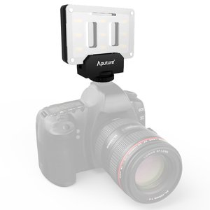 Image 5 - Aputure أماران AL M9 CRI95 + Mini LED الفيديو الضوئي على الكاميرا ملء ضوء مع حامل ضوء ترايبود صغير ومجموعة تنظيف Pergear