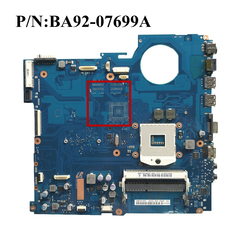 Excellent For Samsung NP RV511 RV511 Laptop Motherboard HM55 DDR3 BA41 01432A BA92 07699A BA92 07699B
