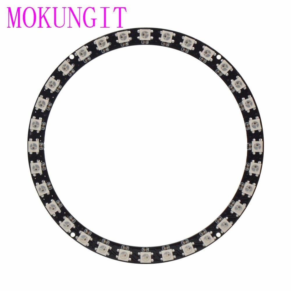 Tiras de Led ws2812b mokungit sk6812 anel 32 Modelo Número : Sk6812