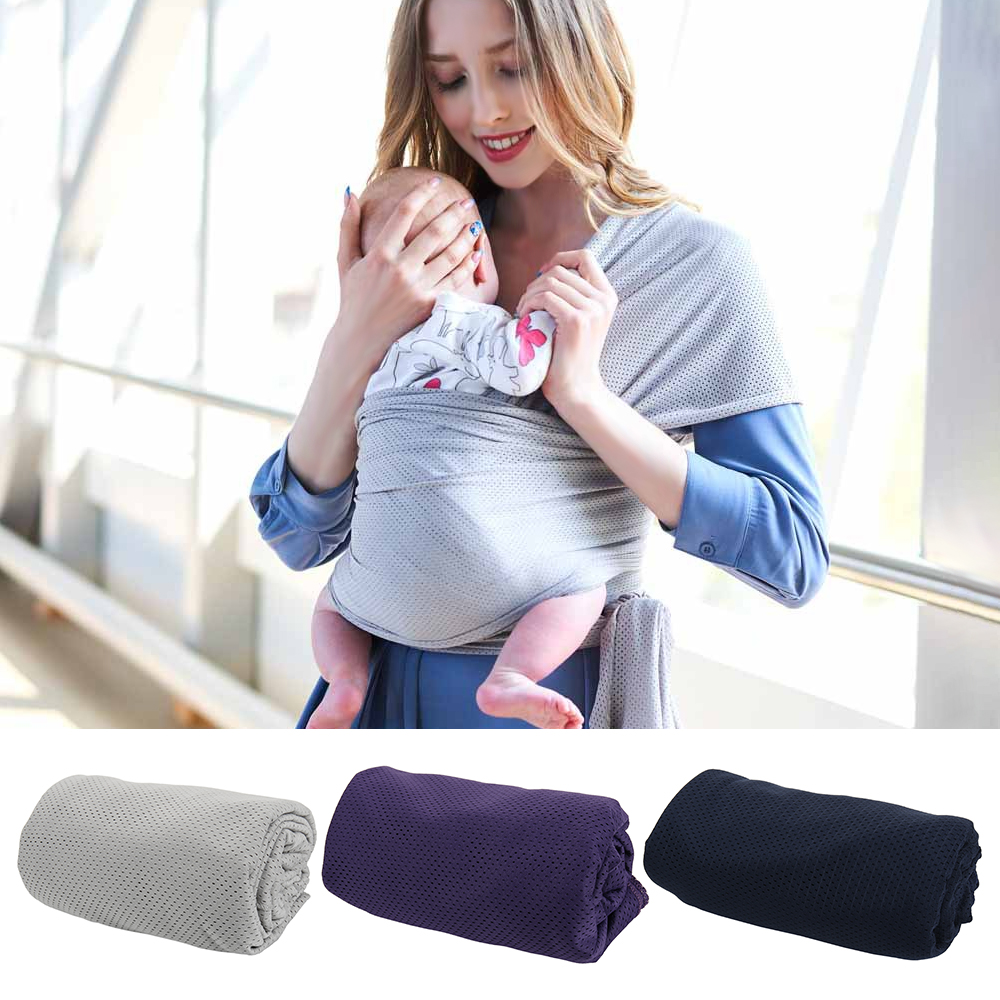 Infant Sling Soft Natural Wrap Baby Carrier Backpack Breathable Cotton Nursing Cover Accessories