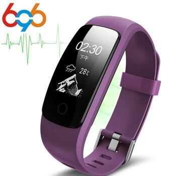 ID107 Plus GPS Smart Handgelenk band Armband Herz Rate Monitor Antwort Anruf Push Nachricht Wecker Fitness Tracker Für IOS und