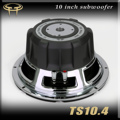 Ts10.4 car audio trainborn 10 pure bass loudspeaker overweight subwoofer horn