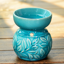 Thai Aromatherapy Candle Lamp Ceramic Oil Burner To Send Large Capacity Hotels Candle Tray