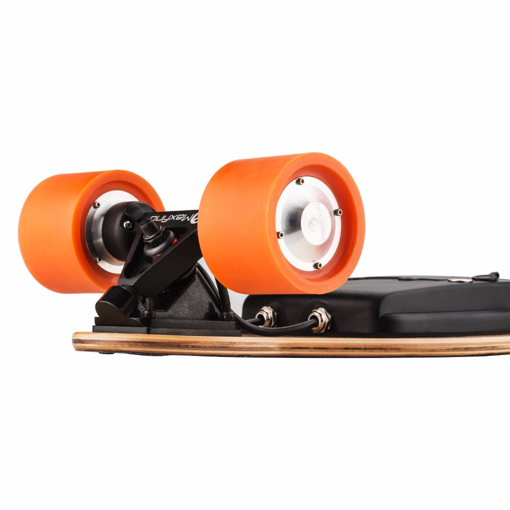 ФОТО New 2017 Maxfind 500w geared motor for penny board 4 wheel electric skateboard scooter electrico FREE SHIPPING