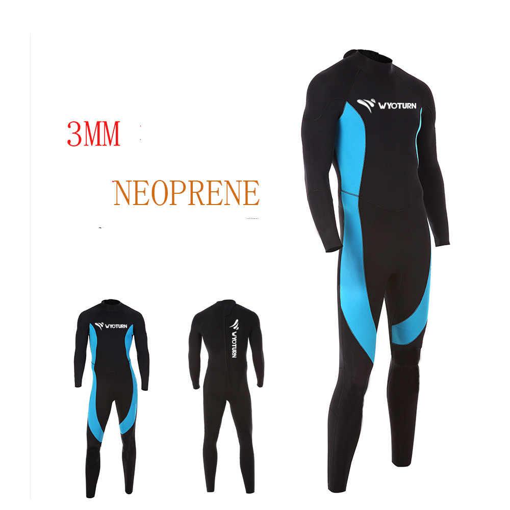 Неопреновый костюм для подводного плавания, 3 мм, на заказ, гидрокостюм из неопрена, для подводной охоты, для дайвинга, для мужчин