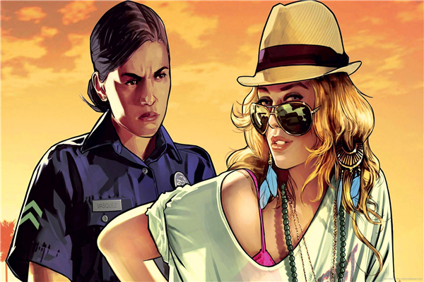 Custom Canvas Art Grand Theft Auto Poster Gta San Andreas Game Wallpaper Y Lady Wall Stickers