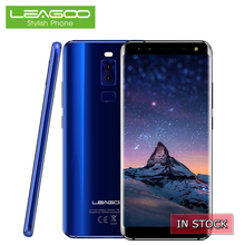 LEAGOO S8 4G LTE Smartphone 5.72 Inch 18:9 Display Celular Android 7.0 Octa Core 3+32GB 13.0MP 4 Cameras Fingerprint Cell Phones