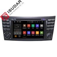 Android 7.1.1! twee Din 7 Inch Auto Dvd-speler Voor Mercedes/Benz/E-Klasse/W211/E200/E220/E300/E350 Quad Core Wifi 3G USB GPS Radio