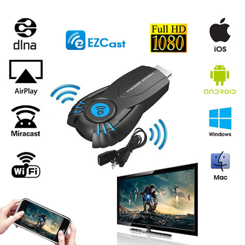 Ezcast Smart Tv Stick Ez Cast Android Mini Pc Miracast