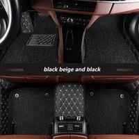 kalaisike Custom car floor mats for Cadillac all models SRX CTS Escalade ATS CT6 SLS XT5 CT6 ATSL XTS auto styling accessories