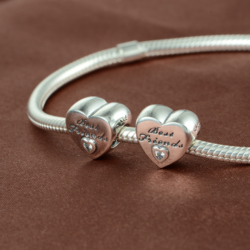 Best Friend Charm Bracelet: Best Friend Charm For Pandora Bracelet