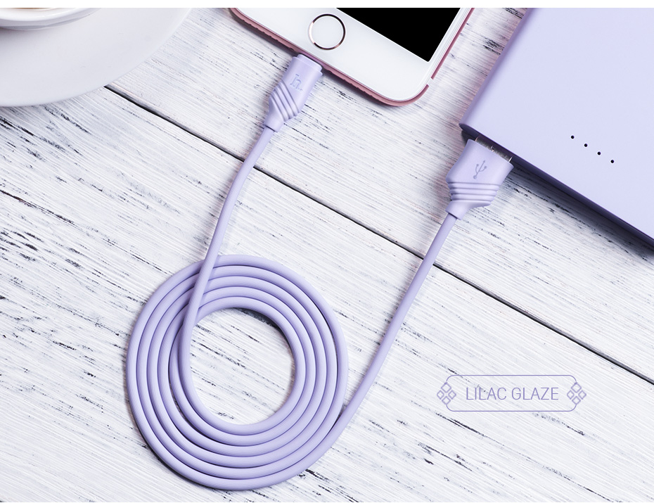 HOCO 2.4A Fast Charging USB Cable For Apple-Plug Charger For Apple iPhone iPad Data Cord for Mobile Phone Data Line Sync Wire 13