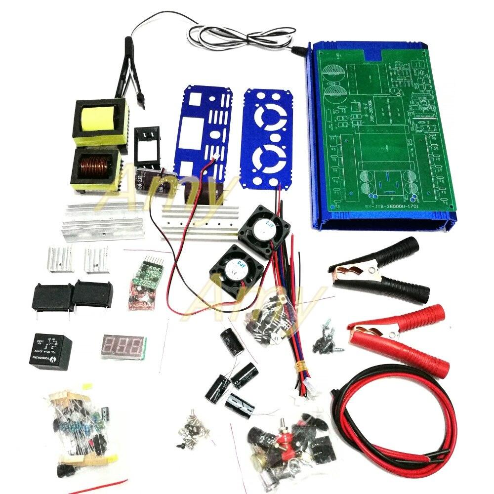 High power 12V inverter kit parts electronic nose DIY12 JXB28000W finished machine