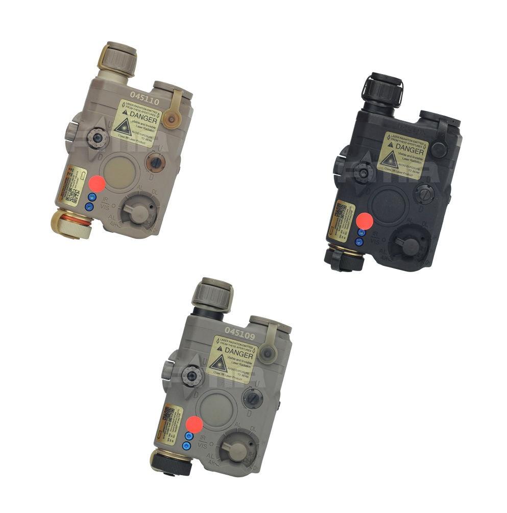 Radient Version Mise à Niveau Fma Tb0072/tb0074/tb0076 De/bk/fg Peq La5 Led Lumière Blanche + Laser Rouge Avec Lentilles Ir Brillant