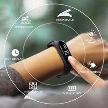 50M Waterproof fashion watch Men Couple Women Digital sports electronic Simple часы мужские reloj hombre LED Luminous Sensor H51