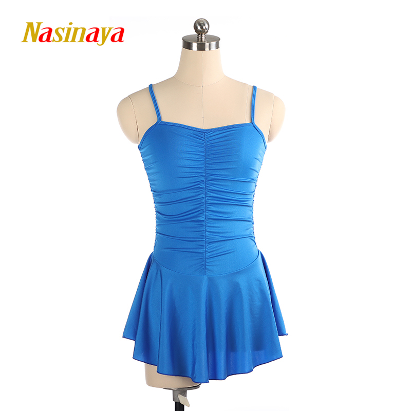 Nasinaya Figure Skating Dress Customized Competition Ice Skating Skirt for Girl Women Kids Patinaje Gymnastics Performance 201-in Gymnastics from Sports & Entertainment    1