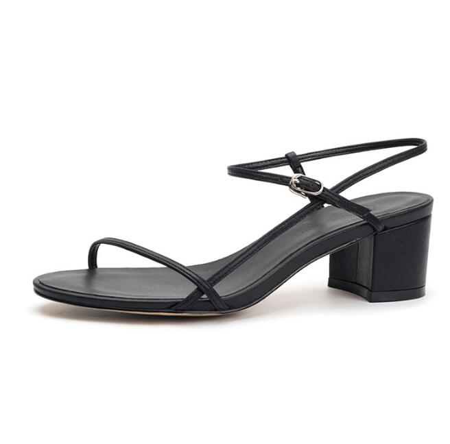 Carpaton Woman Sexy Sandals Summer Ankle Strap Thick Heels Cutouts Dress Shoes Open Toe Rome Style Gladiator Sandal Black Nude Carpaton Woman Sexy Sandals Summer Ankle Strap Thick Heels Cutouts Dress Shoes Open Toe Rome Style Gladiator Sandal Black Nude