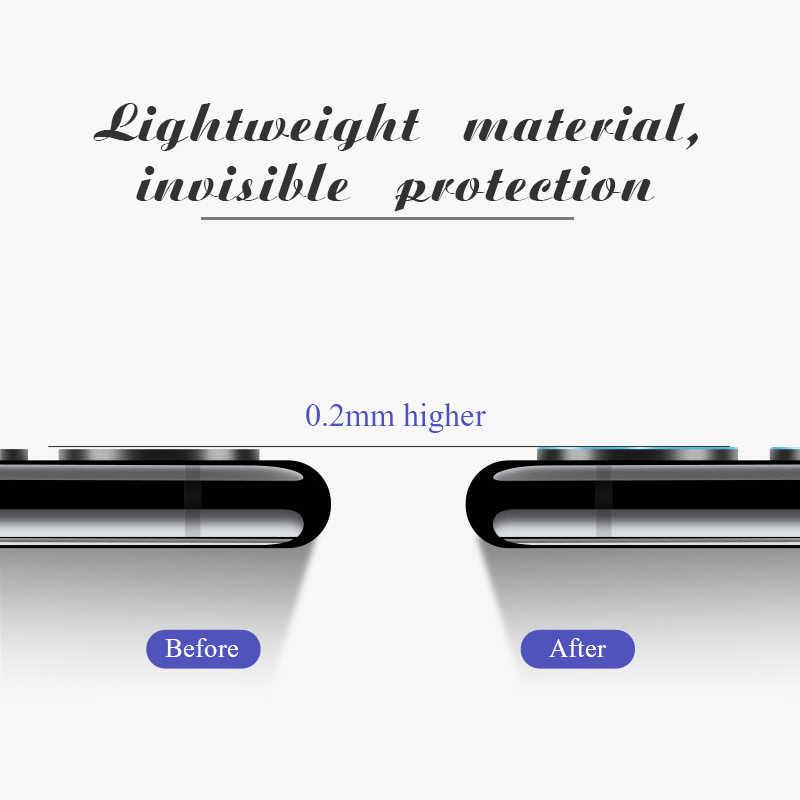 2 Buah Kamera Kaca Film untuk Xiaom Merah Mi 7 6A Note 7 Note 5 Pro Kembali Pelindung Lensa Kamera kaca untuk Xiao Mi Mi 9 8 Lite Mi A2 A1