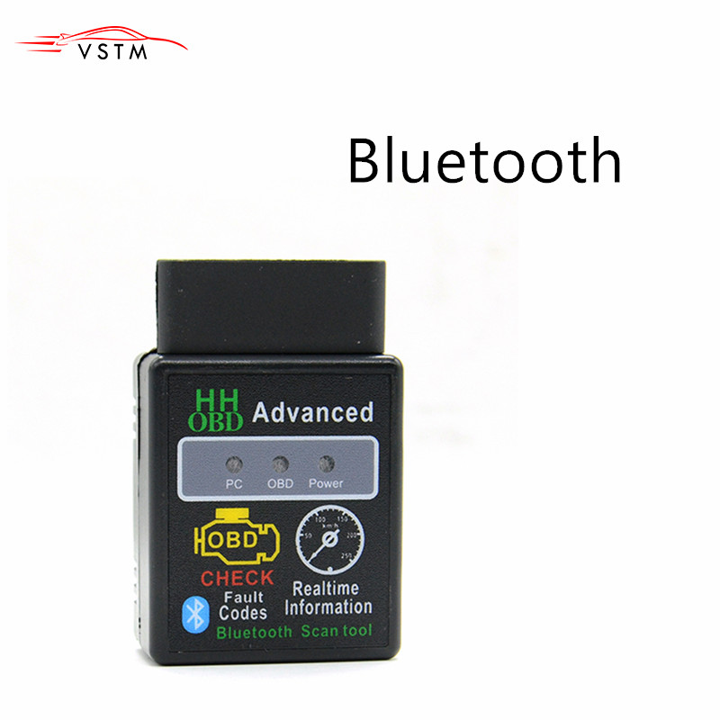 Professional ELM327 V2.1 Bluetooth OBD2 OBDII ELM327 diagnostic auto Tool Car OBD Android For OBDII Protocols