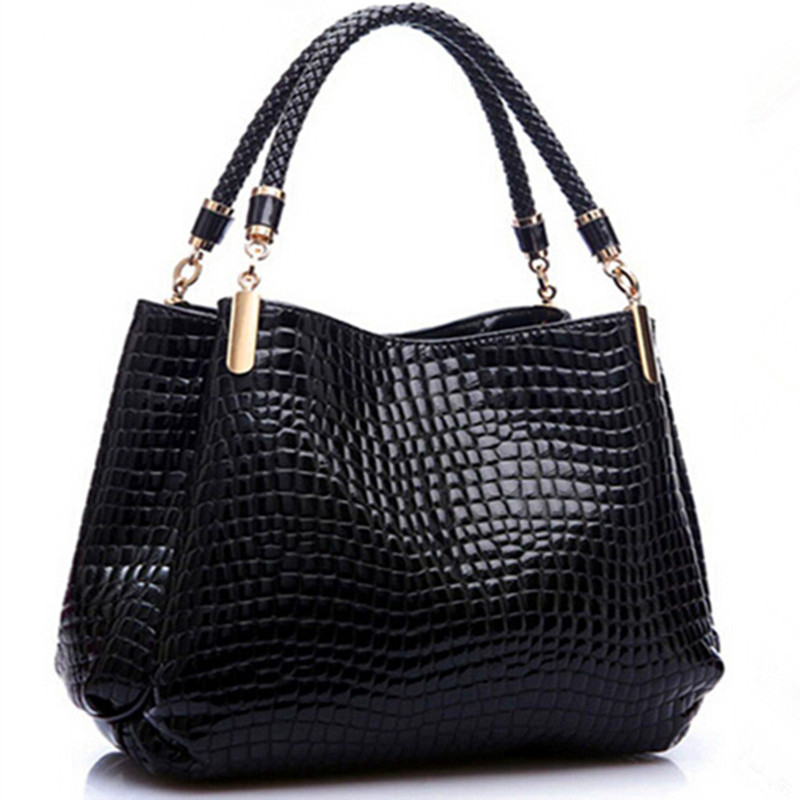 New Designer Brand Alligator Leather Bolsas Femininas Women Bag Fashion Ladies P