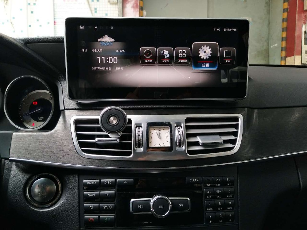 4gb ram+64gb rom Android 10.0 Car Stereo navigation For Benz E Class E230 E260 E300 <font><b>W212</b></font> 2013-2014 GPS radio <font><b>multimedia</b></font> player image