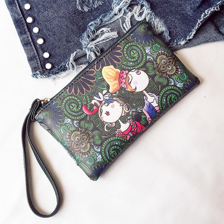Women's Bags Female Purse Printed Handbag Bolsos-Feminina