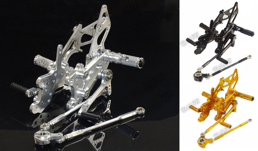 Motorcycle Adjustable Rider Rear Sets Rearset Fold Foot Rest Pegs For Honda CBR1000RR CBR 1000 RR 2004 2005 2006 2007 раскладушка therm a rest therm a rest luxurylite mesh xl