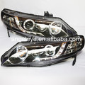 Para HONDA Civic LED Head Lamp Angel Eyes 2006-2011 año LF