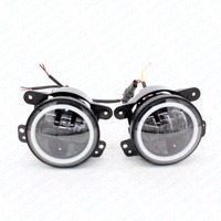 2Pcs Pair 30W 4 Inch Car Led Fog Light Lamp Headlight High Power For Offroad Jeep
