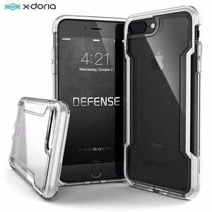Image 1 - Túi Chống Sốc X Doria Quốc Phòng Ốp Lưng Điện Thoại Trong Suốt Dành Cho iPhone SE2 7 8 Ốp Lưng Quân Đội Cao Cấp Thả Thử Nghiệm Bảo Vệ Coque Cho iPhone 7 8 Plus