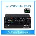 10 unids/lote zgemma h5.2s gemelo DVB S/S2 soporte h.265 decodificación con cpu corriendo más rápido
